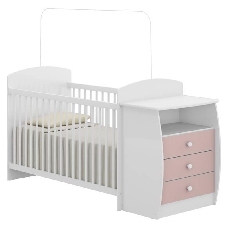 Kidscool - Cuna Mudador Bambini Rosa