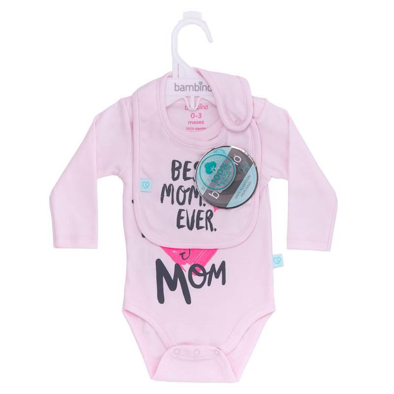 Bambino - Set Body Y Babg I Heart U Mom