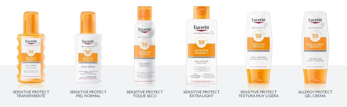 filtro, protector solar, cuerpo, corporal, factor 50, protector , Eucerin