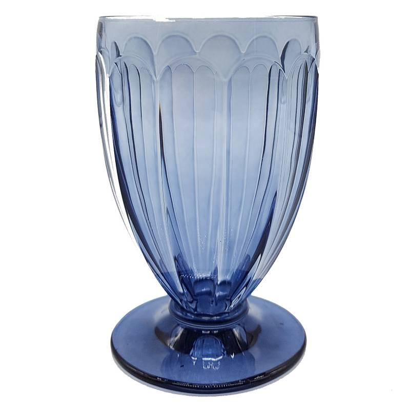 CRISTAL DE BOHEMIA - Copa De Cristal De Agua
