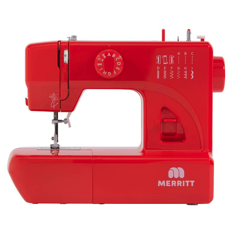 MERRITT - Máquina de Coser Colección Color Rojo