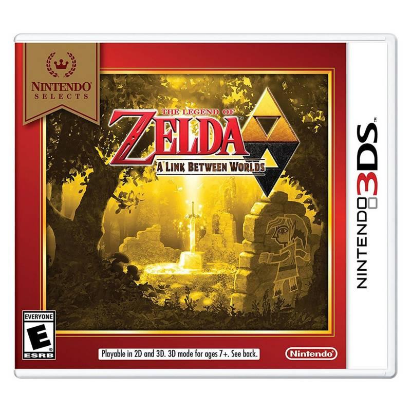 Nintendo - The Legend Of Zelda: A Link Between Worlds (3Ds)