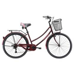 Oxford - Bicicleta   Cyclotour 6V M Burdeo Fucsia Aro26