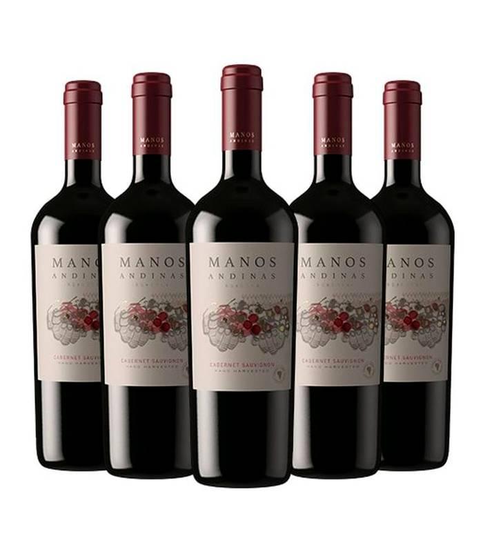 TRASIEGO WINES - 12 Cabernet Sauvignon Rva Manos Andinas