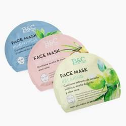 Falabella - Set de 3 Mascaras Faciales Hidratantes