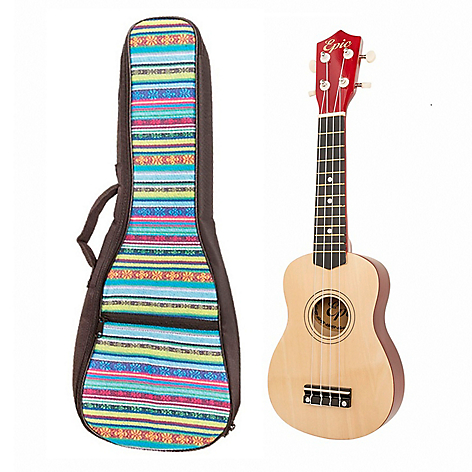 Pack Ukelele Natural + Funda