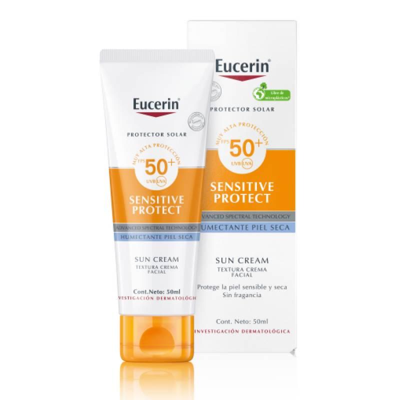 EUCERIN - Protector solar crema facial FPS50 50 ml