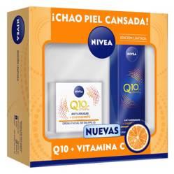 Pack Nivea Rutina Facial Q10 + Vitamina C Día y Noche