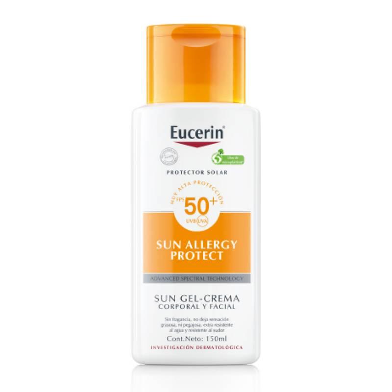 EUCERIN - Protector solar crema gel para alergias solares FPS50 150 ml