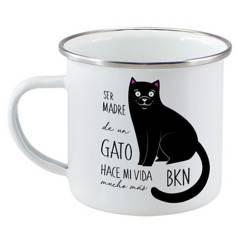 PETFY - Tazón Enlozado Gato Madre