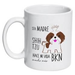 Tazón Cerámico Shih Tzu Madre