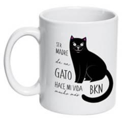 PETFY - Tazón Cerámico Gato Madre
