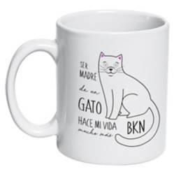 Tazón Cerámico Gato Madre