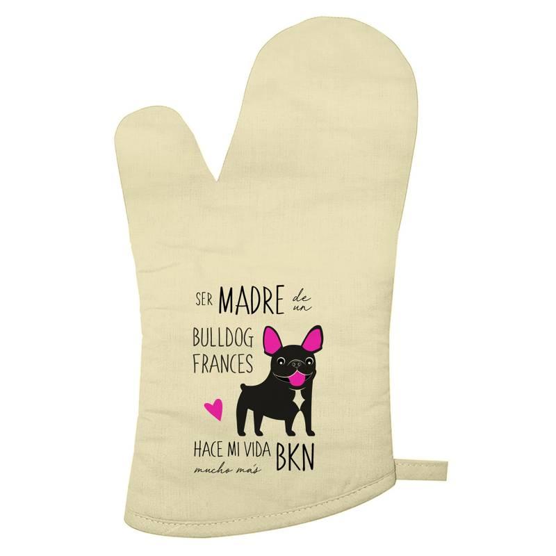 PETFY - Guante De Cocina Bull Dog Frances Madre&Nbsp; &Nbsp;