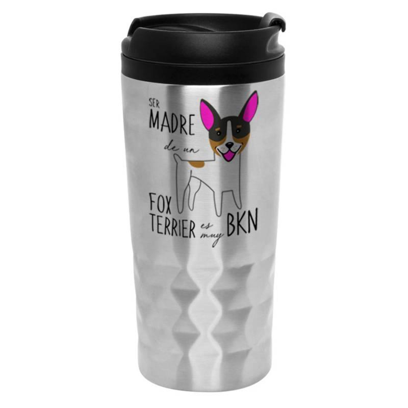 PETFY - Mug Diamantado Fox Terrier Madre