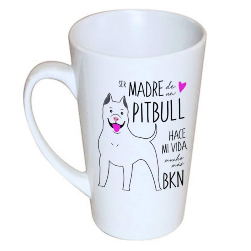 Petfy  - Tazón Cónico Pitbull Madre