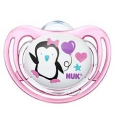 Nuk - Chupete Silicona Free Etapa 1 Pinguirosa