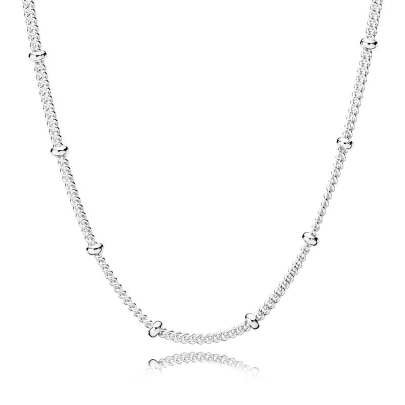 PANDORA - Collar con cuentas de gotas 70cm