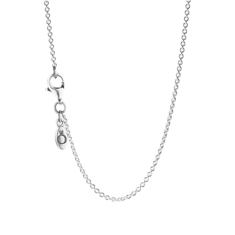 PANDORA - Collar plata con dije