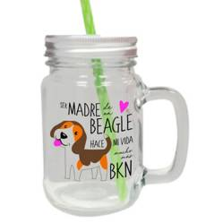 Jar de Vidrio Beagle Madre