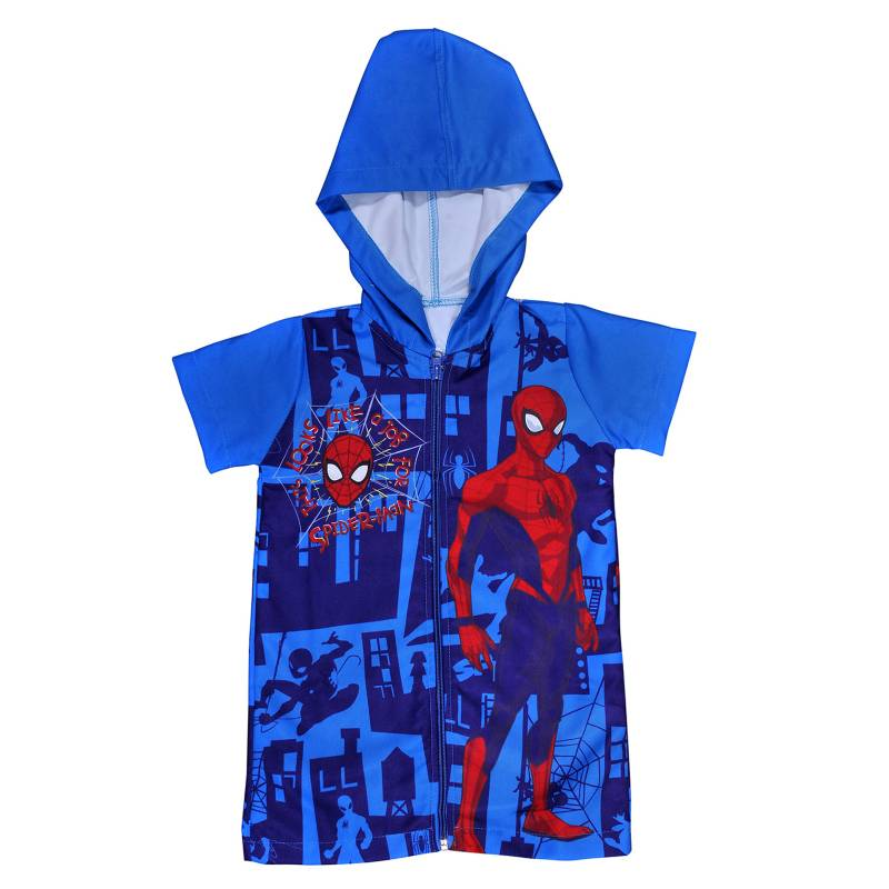 Spiderman - Toalla de Playa Capucha Spiderman 140 g