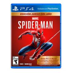 PLAYSTATION - Spiderman PS4