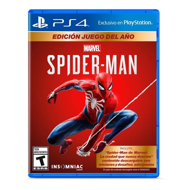 PLAYSTATION - Spiderman PS4