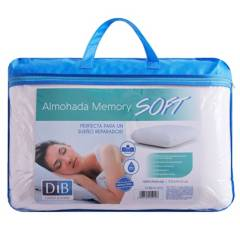 DIB - Almohada Viscoelástica Memory Soft Dib 37x57