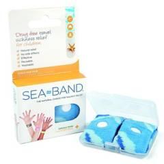 SEA-BAND - Pulsera Anti Mareos Ninos Azul