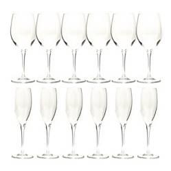 Set 12 Copas Cristal