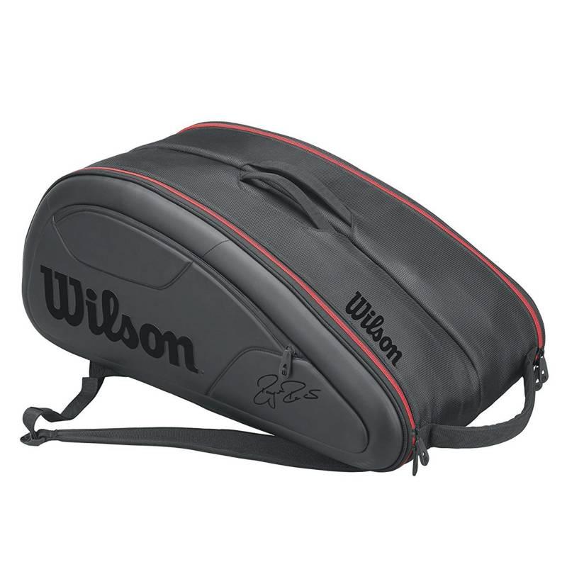 Wilson - Bolso Federer Dna 12 Pack BK
