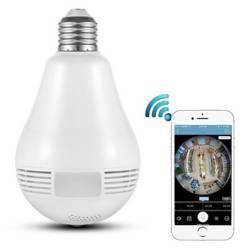 Ampolleta Cámara Monitoreo Visión 360 Hd Wifi