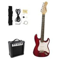 Fiddler - Guitarra Eléctrica  Amplificador 10W y Accesorios