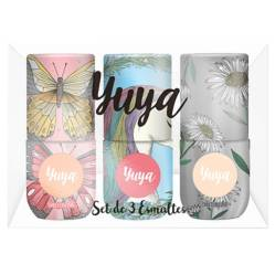 YUYA - Set de 3 Esmaltes Colección 2