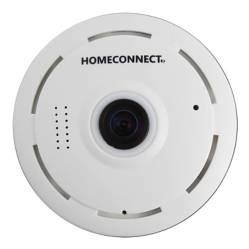HOMECONNECT - Cámara Ip Wifi  Discpro 360 Fisheyes