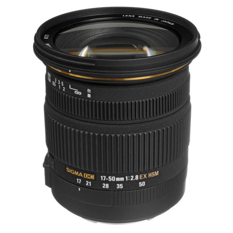 Sigma - Lente Sigma 17-50Mmf/2.8 Ex Dc Os Hsm - Nikon