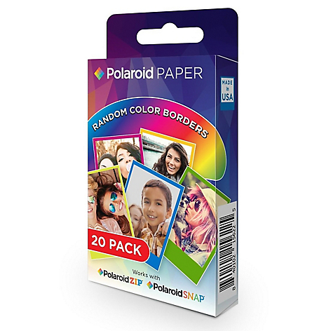 Papel Zink B/Col Snap/S Touch2X20