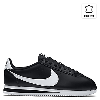 Zapatillas Deportivas Hombre Nike Classic Cortez Leather Vinotinto con Negro