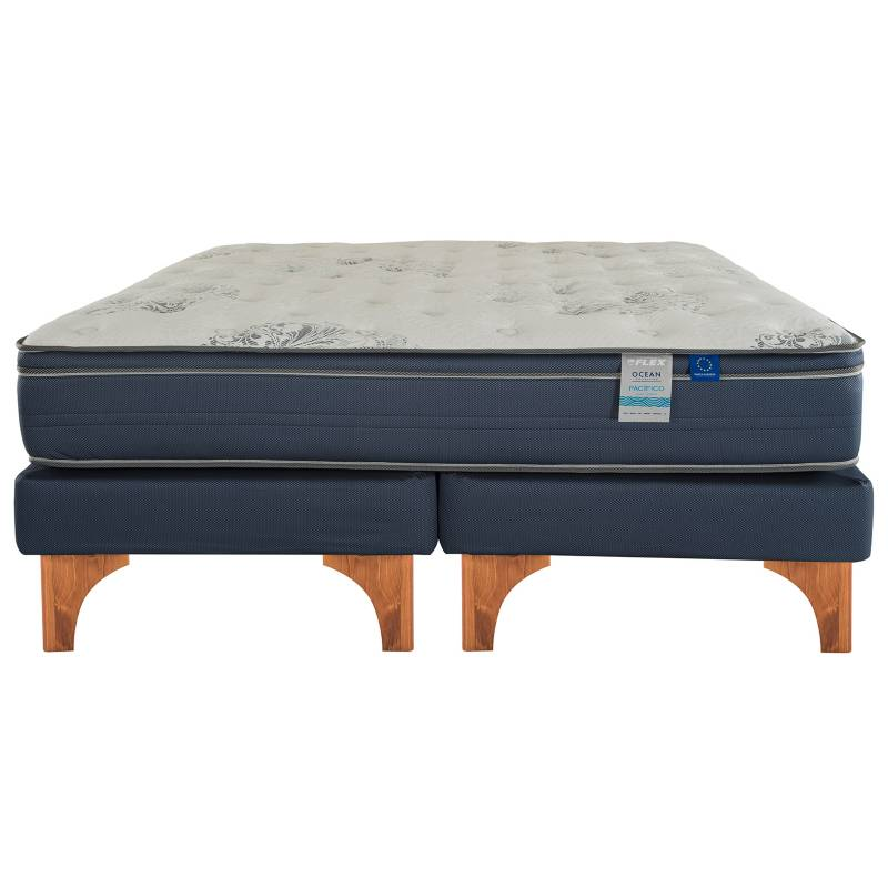 Flex - Cama Europea Flex Pacífico Plus King Base Dividida