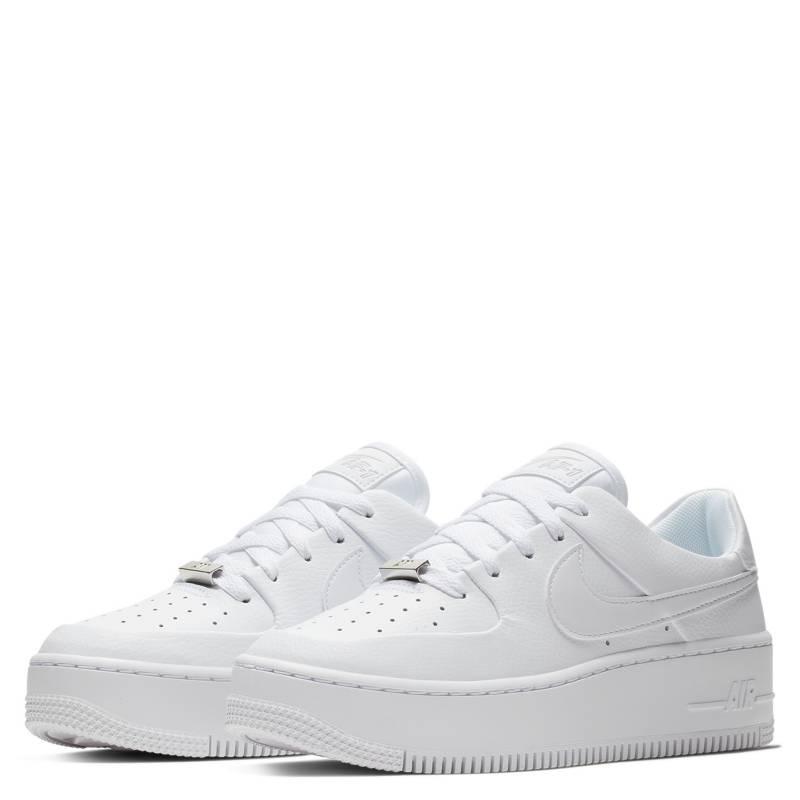 zapatillas blancas mujer nike air