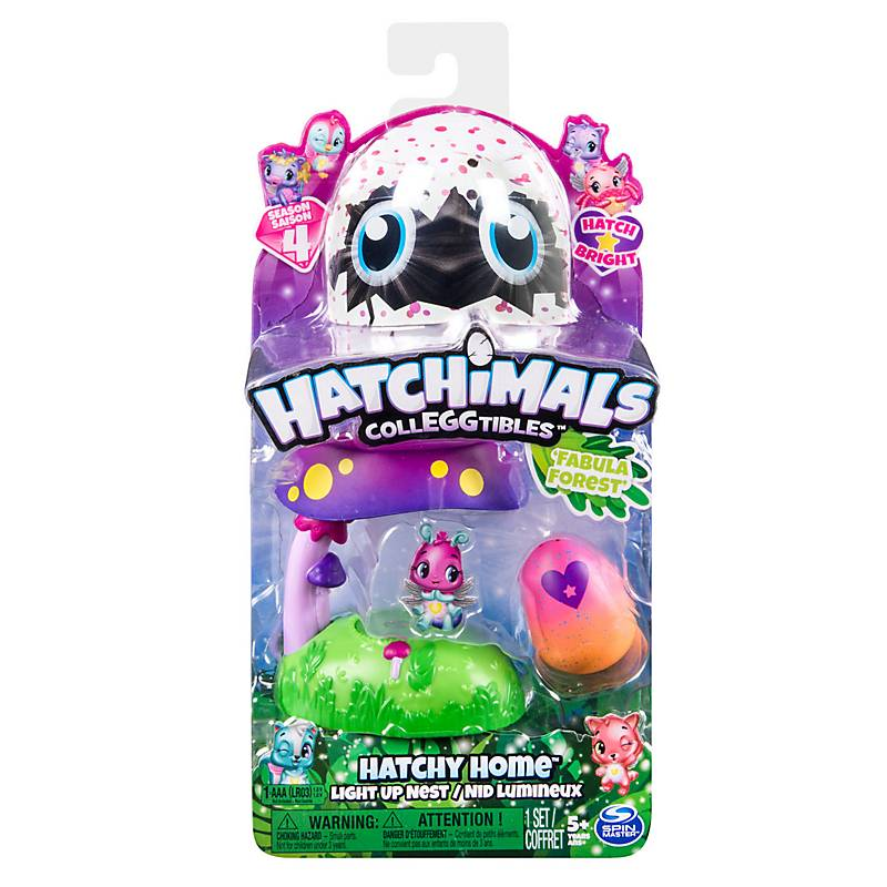 Mini Con Bosque Luz Hatchimals Nido Play Set En 0Nk8wOPXn