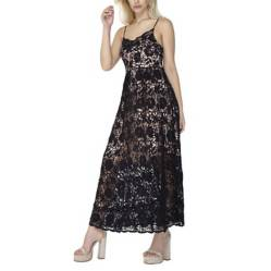 Vestido guipure Peruggia