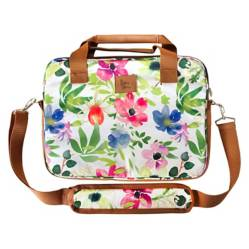 PAPER HOME - Paper Home Bolso Notebook Flores