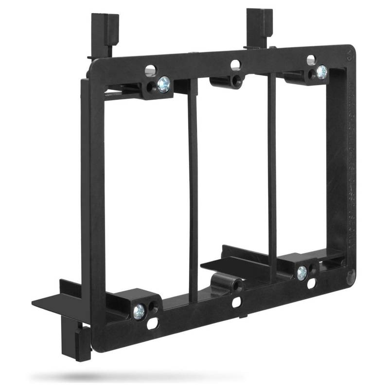 Fosmon - Soporte de montaje (3 bandas) tornillos de montaje incluidos