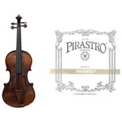 Violin Livorno Deluxe 4/4+ Set Pirastro