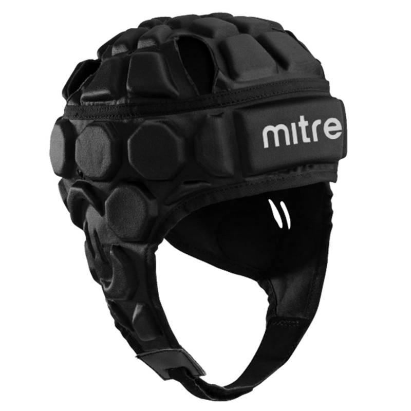 Mitre - Casco Rugby Premier Negro