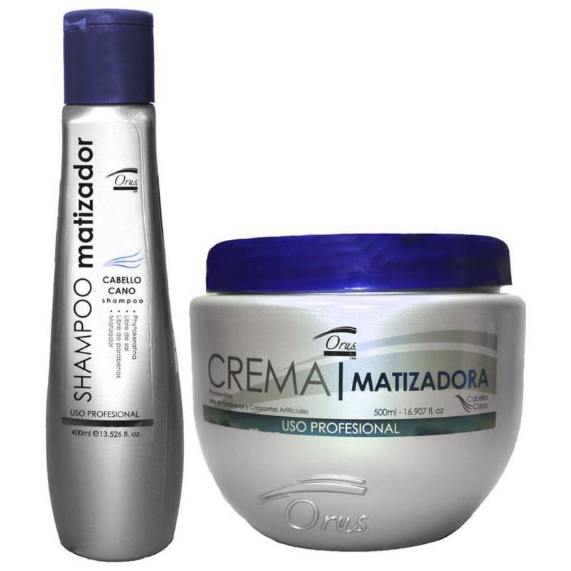Cosmeticav - Kit Shampoo Matizante  + Máscara Matizadores