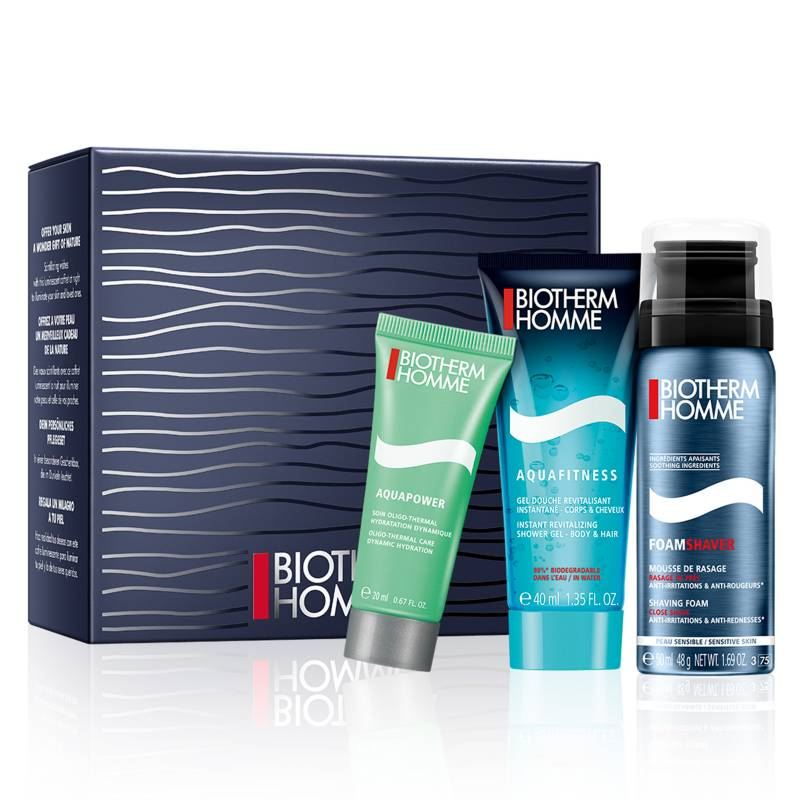 Biotherm - Set de Viaje Hidratación Hombre Aquapower