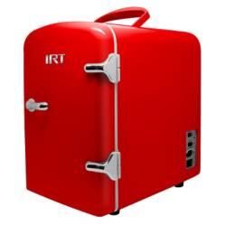 Irt - Frigocar Portátil Retro Rojo