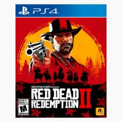 RED DEAD REDEMPTION 2 - LATAM PS4